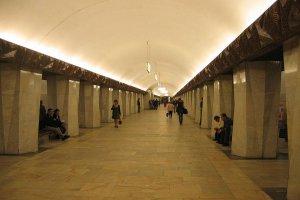 В метро задержали мужчину с пятью пистолетами