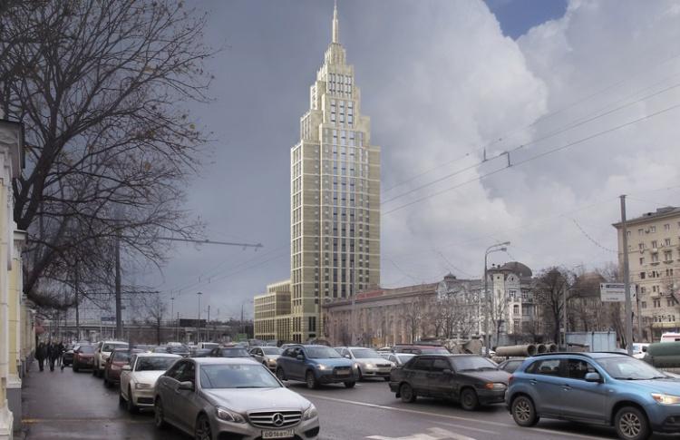 На Ленинградке появится еще одна «сталинская высотка»
