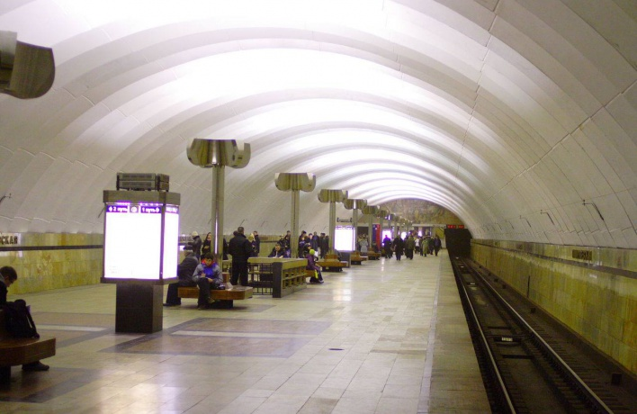 Мужчина уснул на рельсах на станции «Тимирязевская»