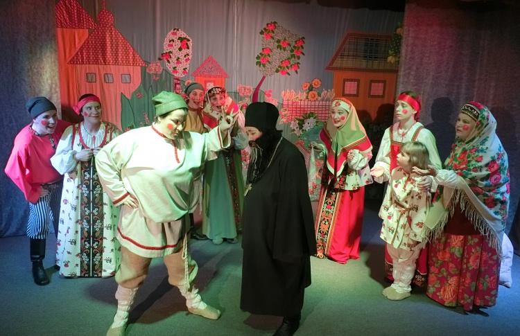 Литературный спектакль «Сказка о попе и о работнике его Балде»