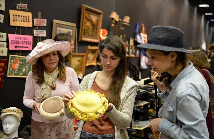 В Музее Москвы откроют зимний блошиный рынок