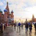 На Москву идет резкое потепление