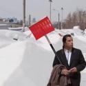 Январь стал самым снежным за 50 лет
