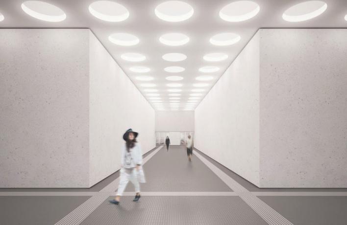 Так будут выглядеть станции «Нижние Мневники» и «Терехово»