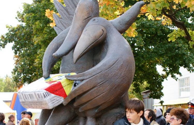 В Москве поставят новый памятник плавленому сырку