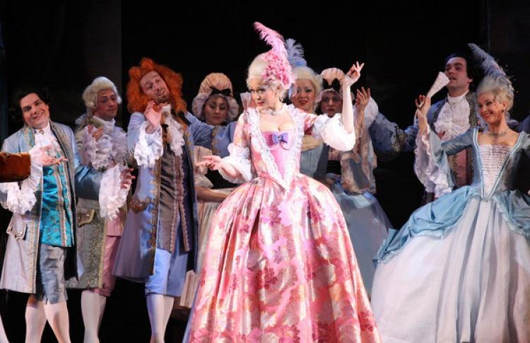 Оперетта «Мадам Помпадур»