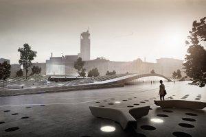 На Павелецкой площади появятся скейтпарк и каток