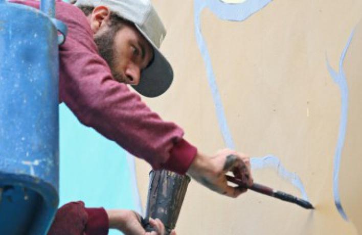 На Волхонке появится граффити с изображением Минина и Пожарского