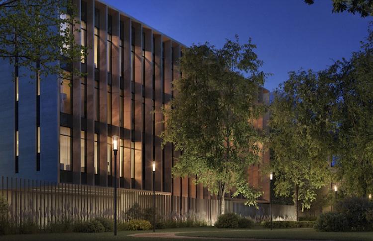 Возле сада Эрмитаж построят дом сбронзовым фасадом