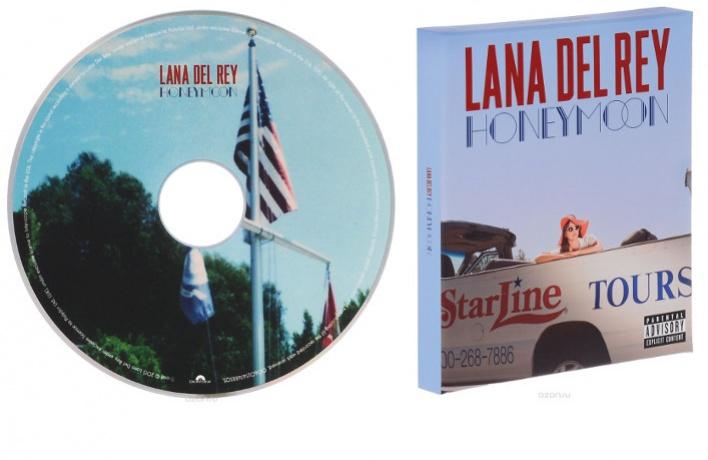 Эксклюзивный «Медовый месяц» Lana del Rey только на OZON.ru