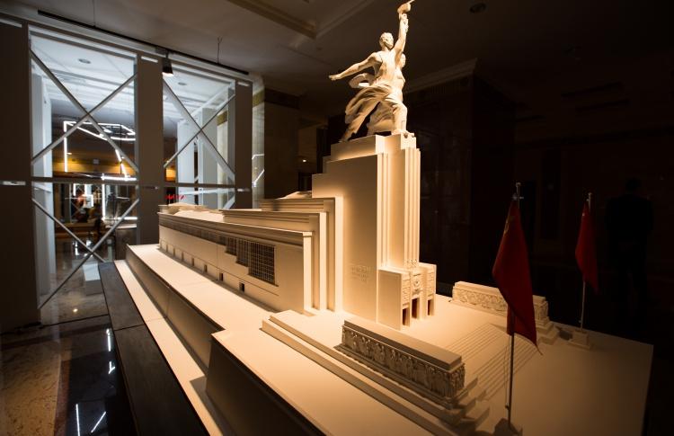 Открытие музейной экспозиции, посвященной Вере Мухиной и ее скульптуре
