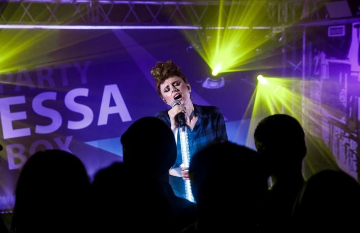 Открытие уникального пространства для вечеринок: Kiesza дала концерт в честь запуска проекта Essa Party Box