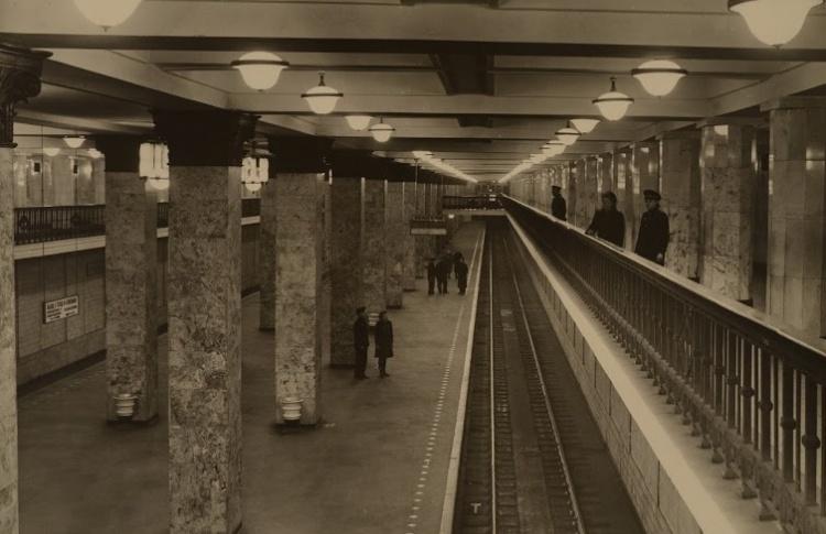 Открытие выставки «Московское метро – подземный памятник архитектуры»