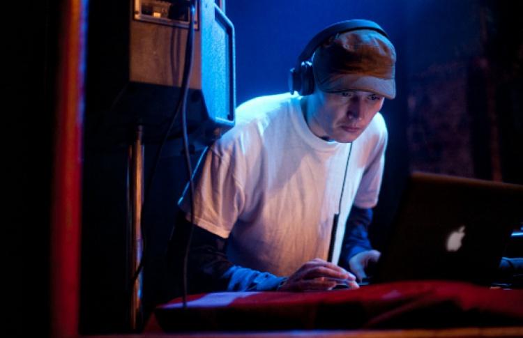 «Warehouse»: DJs Harry Light, Sergey A.M., Dolshchik, VJ Ira Lukina