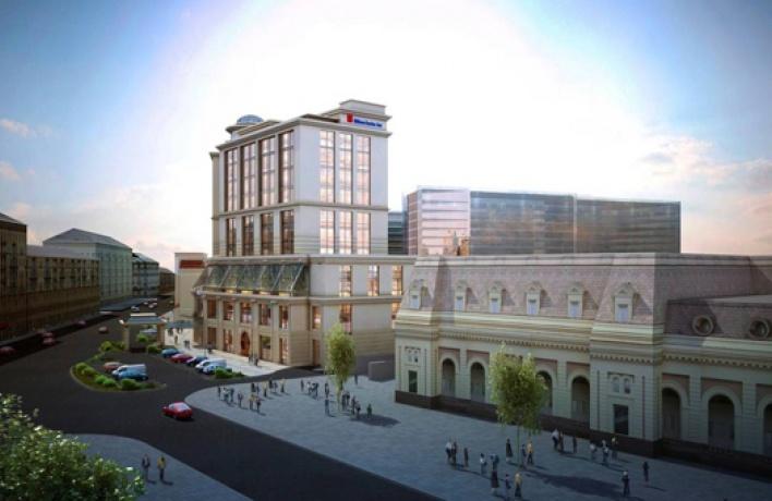 Гостиница Hilton появится около Павелецкого вокзала к 2017 году