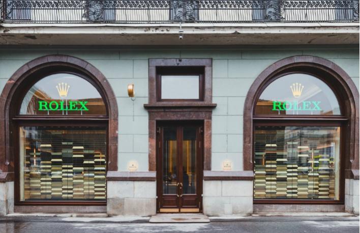 Открылся первый монобрендовый бутик Rolex в России