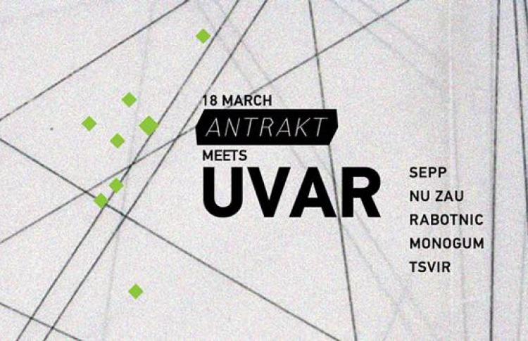Вечеринка Antrakt meets Uvar