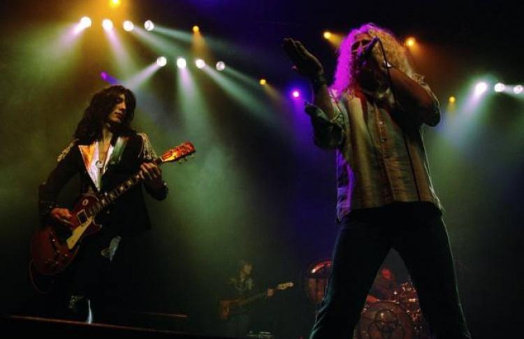 Лучший трибьют Led Zeppelin на сцене Крокус Сити
