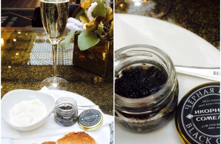 В ГУМе откроется Beluga Caviar Bar