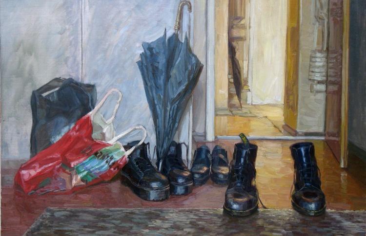 Выставка живописи художника Константина Селезнева