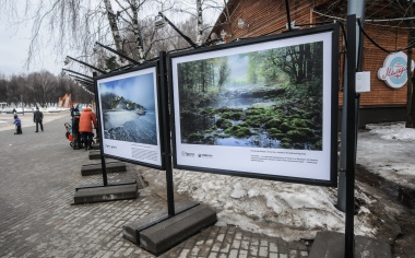 Выставка «Путешествуй дома» в парке «Кузьминки»