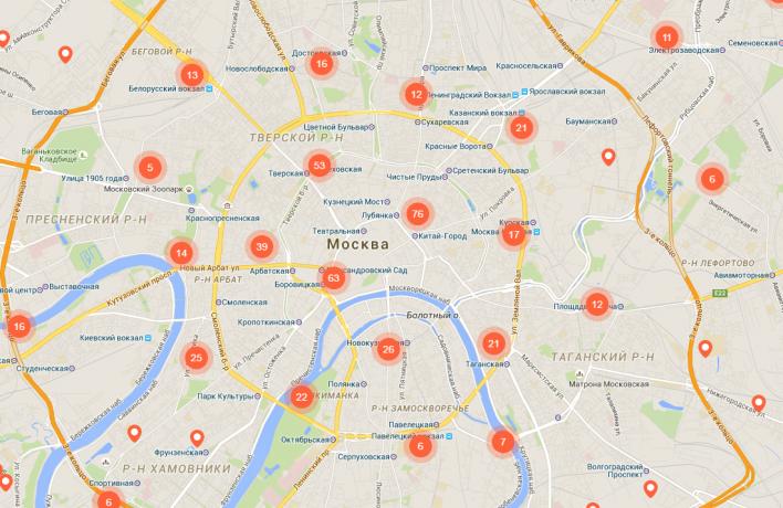 В «Манеже» представят интерактивную карту культурных мест