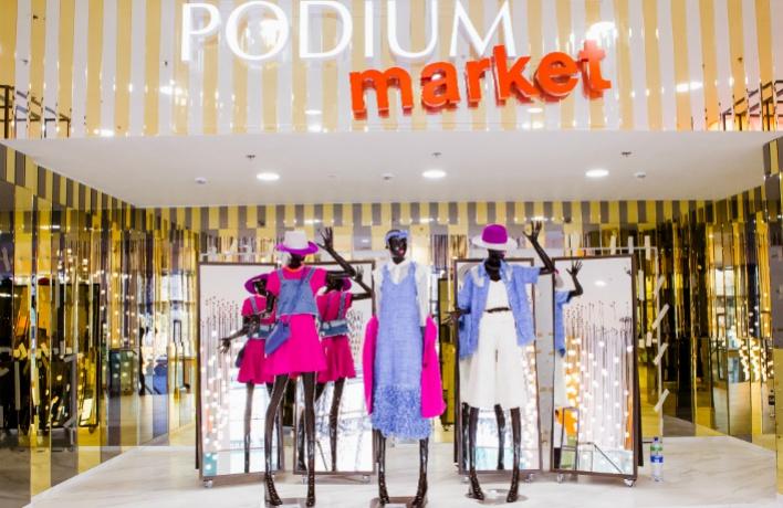 Podium market в ТРЦ «Европейский»