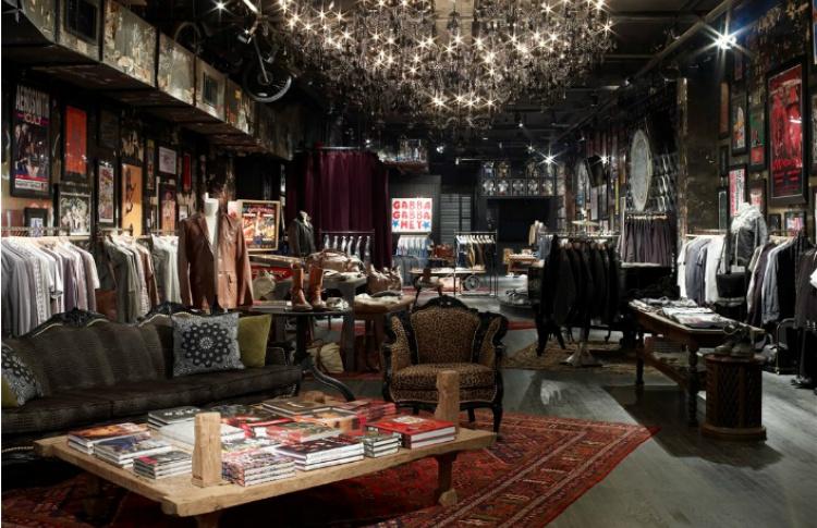 В Москве откроется первый мужской бутик John Varvatos