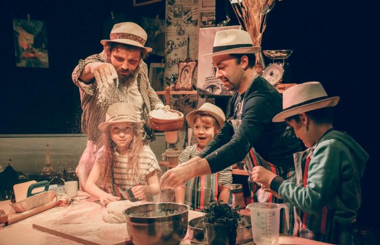 Детский спектакль на Даниловском рынке