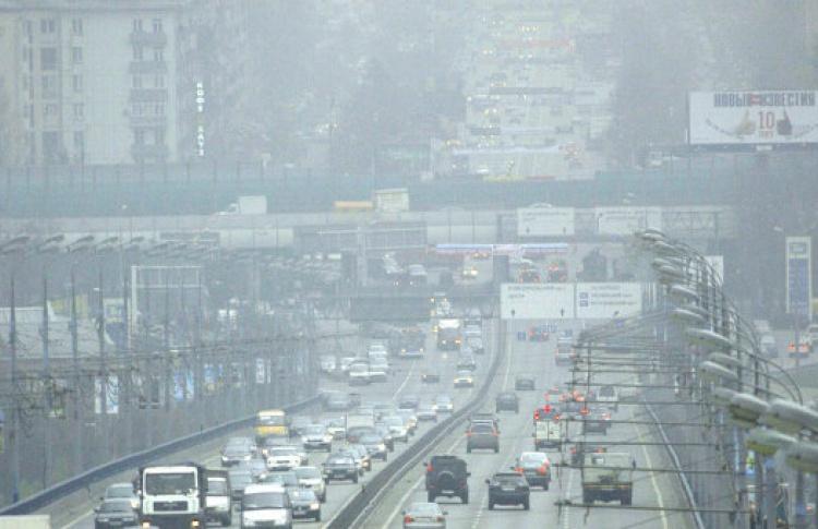 В Москве объявлена первая степень опасности по загрязнению воздуха