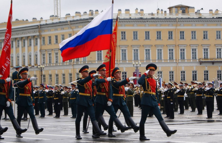 В городе будут перекрывать движение из-за репетиции парада ко Дню Победы