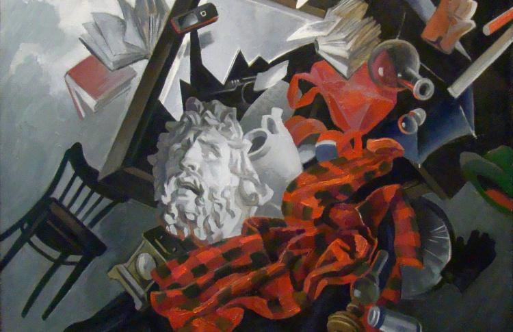 Персональная выставка художника-графика Юрия Круглова
