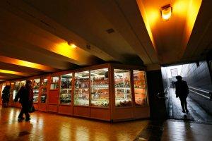 70 павильонов в 30 переходах метро выставлены на торги
