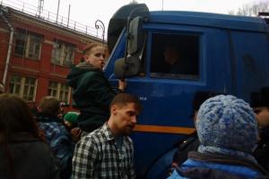 Защитники парка «Дубки» задержаны полицией