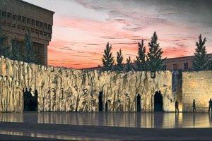 Стену скорби возведут на проспекте Сахарова
