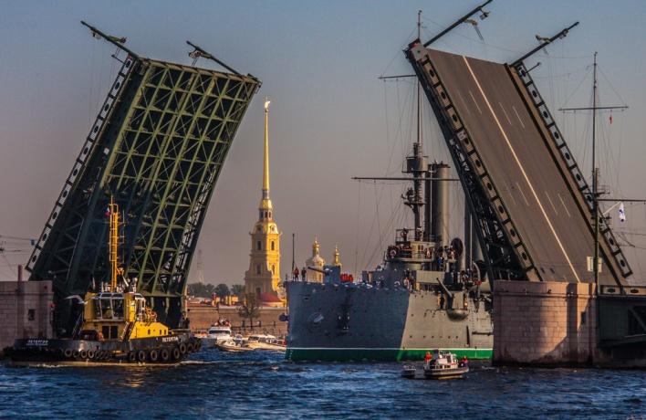 Открытие навигации в Санкт-Петербурге
