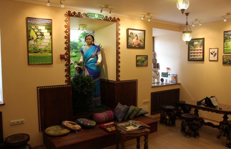 Открытие первого в России дегустационно-торгового зала цейлонского чая