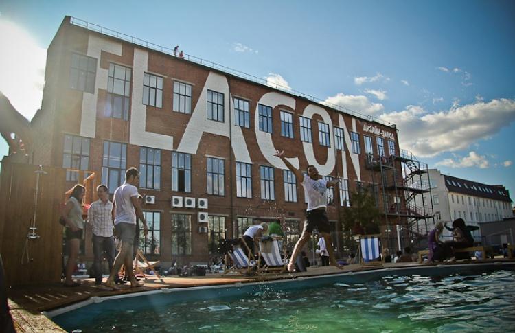 На «Флаконе» откроется новое пространство для отдыха с бассейном
