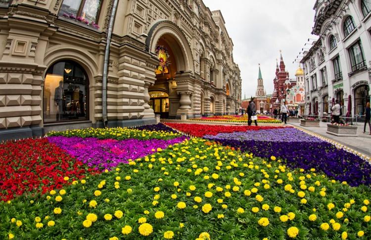 В Москве пройдет парад цветов