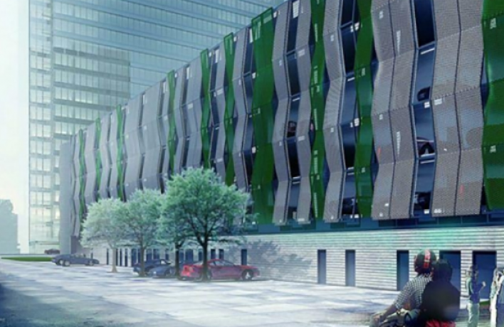 В Москве появятся дизайнерские гаражные комплексы