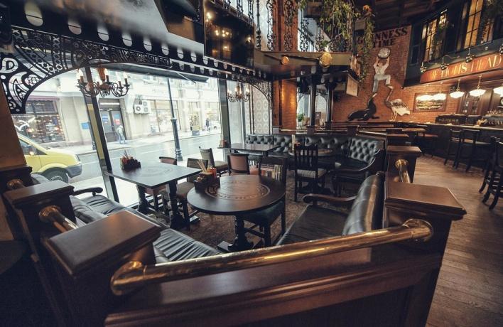 На Мясницкой открылся Lion's Head pub