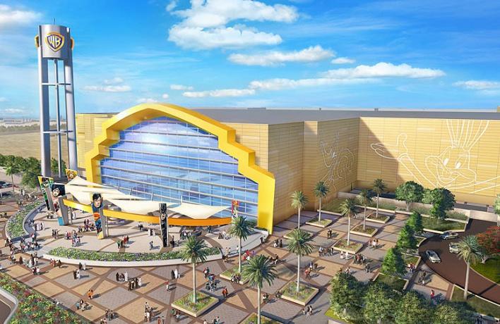 На острове Яс в Абу-Даби откроется тематический парк Warner Bros