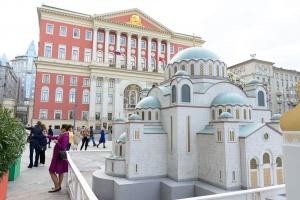 На Тверской появилось 14 православных храмов
