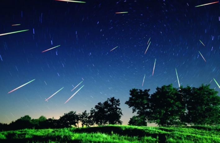 Вночь напятницу граждане Петербурга иобласти смогут увидеть звездопад
