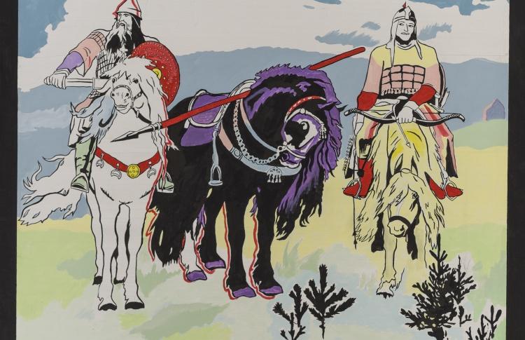 Выставка Константина Звездочетова
