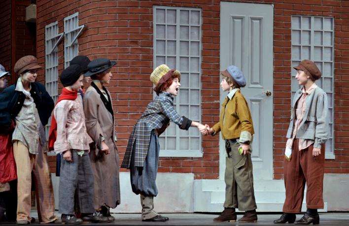 «Жизнь и необыкновенные приключения Оливера Твиста» в Театре Наталии Сац
