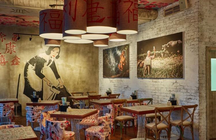 На Кутузовском открылось кафе Mahjong