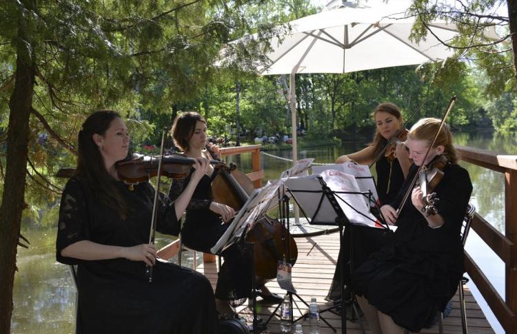 Первый музыкальный фестиваль в «Сколково»