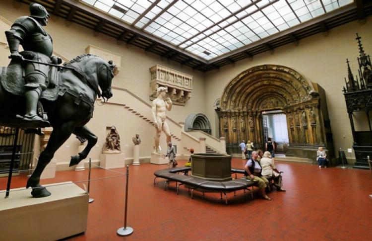 Утерянные после войны скульптуры из берлинского музея Боде нашли в Пушкинском