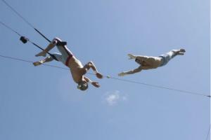 Открывается первая в России спортивно-цирковая школа под открытым небом